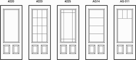 Door-Lites-Custom-Grille_11  sc 1 st  Casa Bella Windows \u0026 Doors & Premium Doors That Offer Wide Variety Of Features And Options